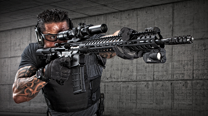 POF Renegade+ rifle in the field