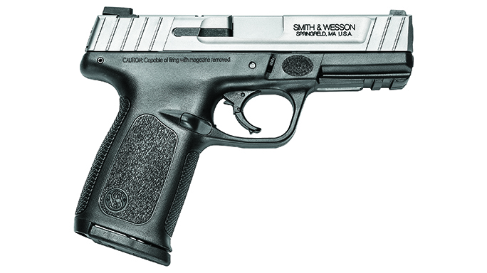 smith & wesson SD40VE striker-fired pistols