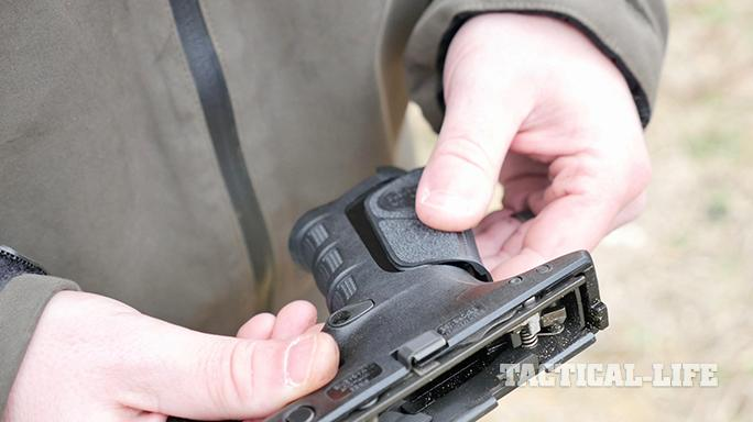 Beretta APX Pistol grip change