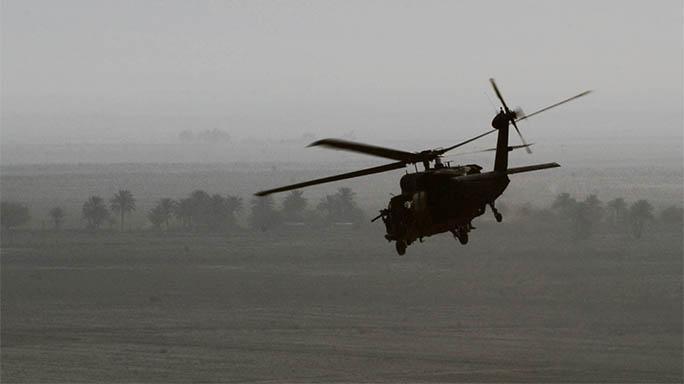 Yemen Raid helicopter