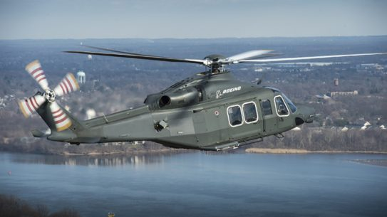 Boeing MH-139 huey helicopter