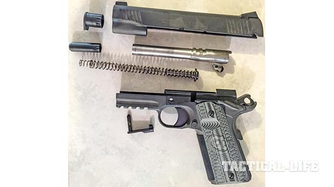combat unit rail gun recoil spring guide