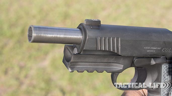 combat unit rail gun 45 acp