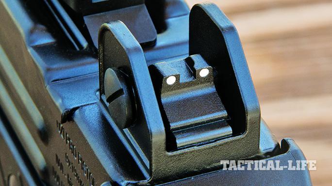 iwi uzi pro pistol sights