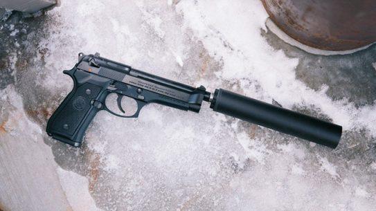 Beretta 92FS silencerco