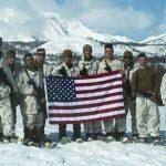 US Marines Cold Weather Training flag