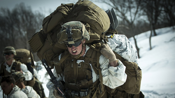US Marines Cold Weather Training pack