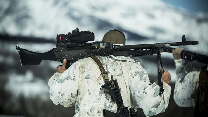US Marines Cold Weather Training scope