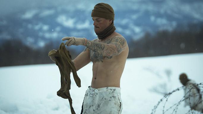 US Marines Cold Weather Training shirt
