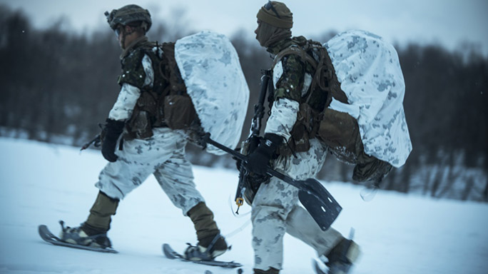 US Marines Cold Weather Training shoes