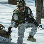 US Marines Cold Weather Training snow