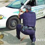 law enforcement patrol car