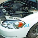 patrol car engine block