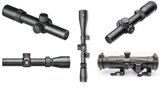 tactical ar scopes