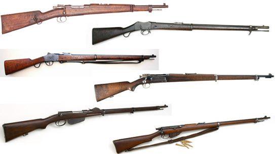 boer war rifles