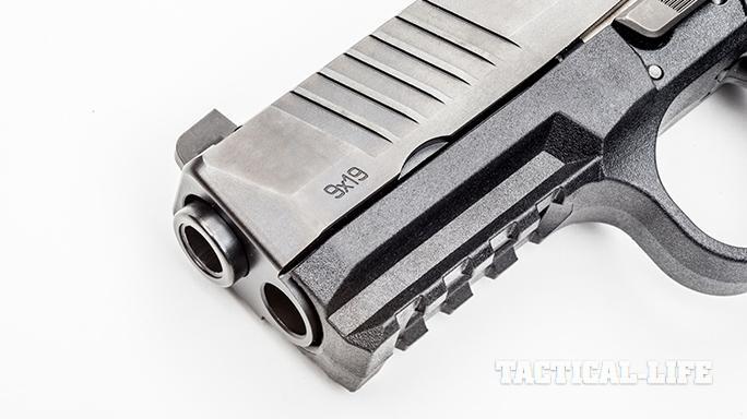 fn america fn 509 9mm pistol rail