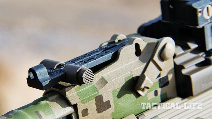 AJAK-74 enhanced rear sight