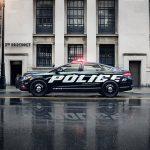 Police Responder Hybrid Sedan car