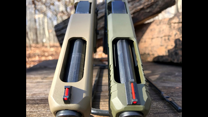 Agency Arms Glock 34 build slide comparison