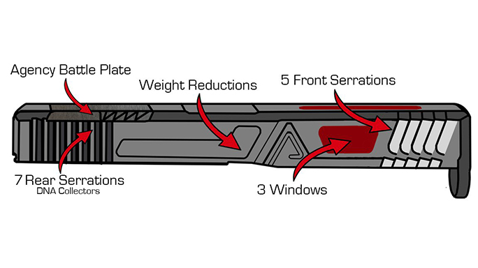 Agency Arms Glock 34 build slide