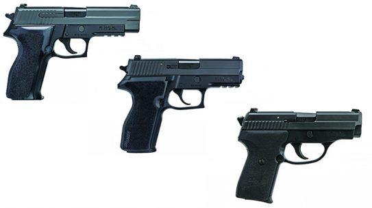 .357 SIG P226 Nitron, P229 Nitron, P239 Nitron