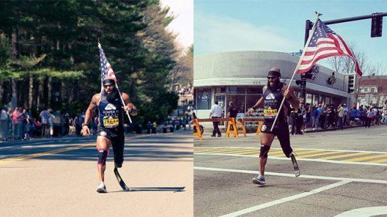 Staff Sgt. Jose Sanchez 2017 Boston Marathon