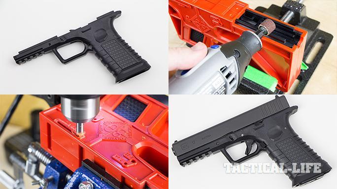 glock 17 Polymer80 PF940 build