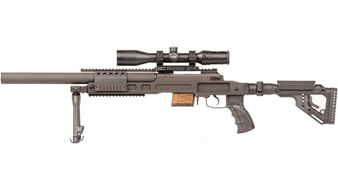 B&T SPR300 rifle left side