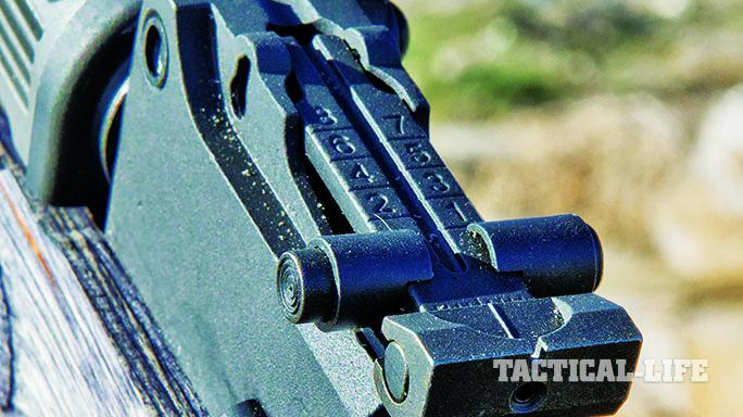 Century Arms C39 rifle rear sight