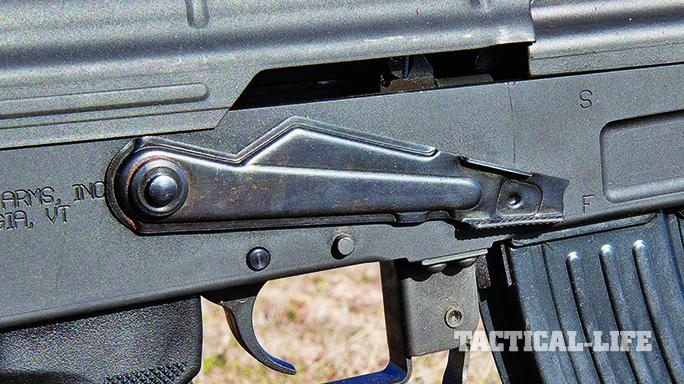 Century Arms C39 rifle safety