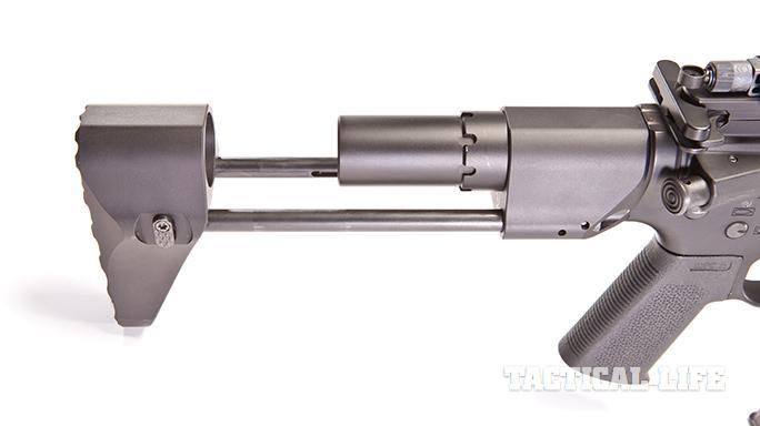 Desert Design & Development D3-9SD buttplate latch