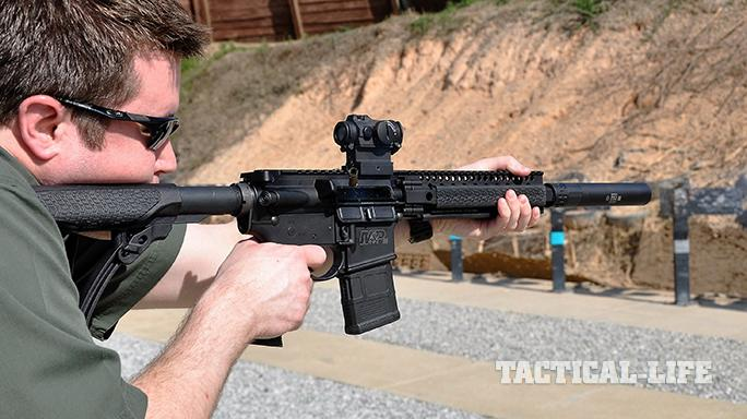 daniel defense DDM4 300S shooting range