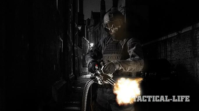 Empty Shell XM556 microgun alley