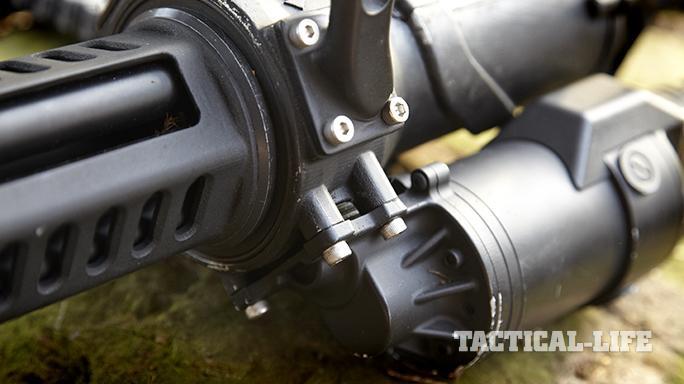 Empty Shell XM556 microgun controls