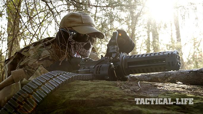 Empty Shell XM556 microgun profile