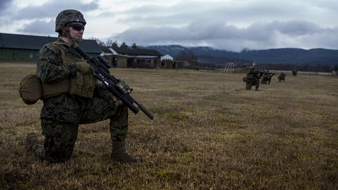 marine rifle suppressors