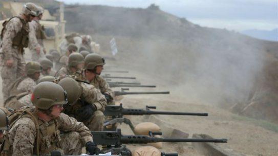 marines m2a1 machine gun