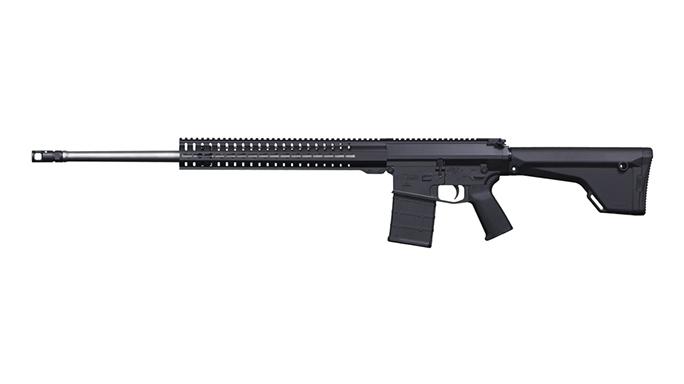CMMG Mk3 P 6.5 Creedmoor rifle angle