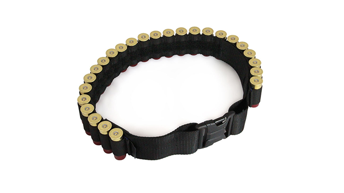 Mossberg Shotgun bandolier and belt shells