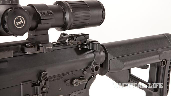 Remington R10 rifle rear shot