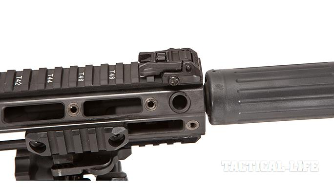 Remington R10 rifle rail