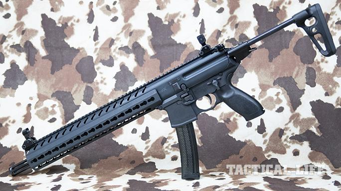 SIG MPX carbine left angle