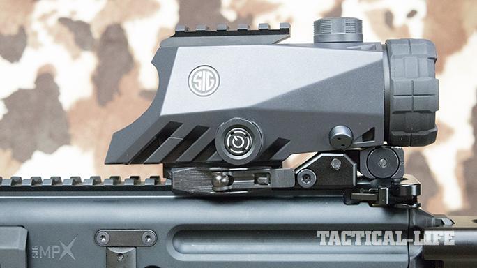SIG MPX carbine bravo4 optic