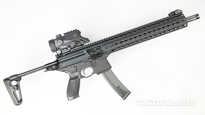 SIG MPX carbine right angle