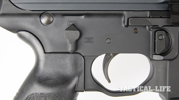 SIG MPX carbine trigger