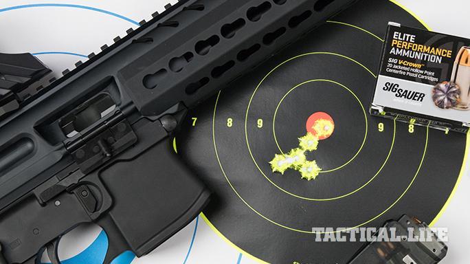 SIG MPX carbine target