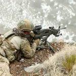 SOCOM Lightweight Medium Machine Guns aiming