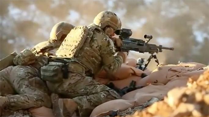 general dynamics lightweight medium machine guns test fire