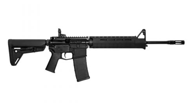 Smith & Wesson M&P15 MOE SL rifle black