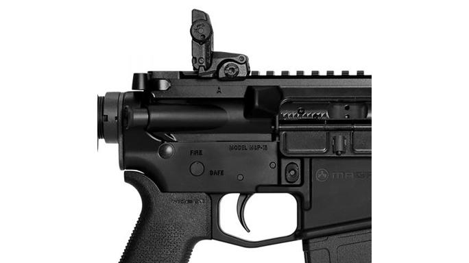 Smith & Wesson M&P15 MOE SL rifle rear sight